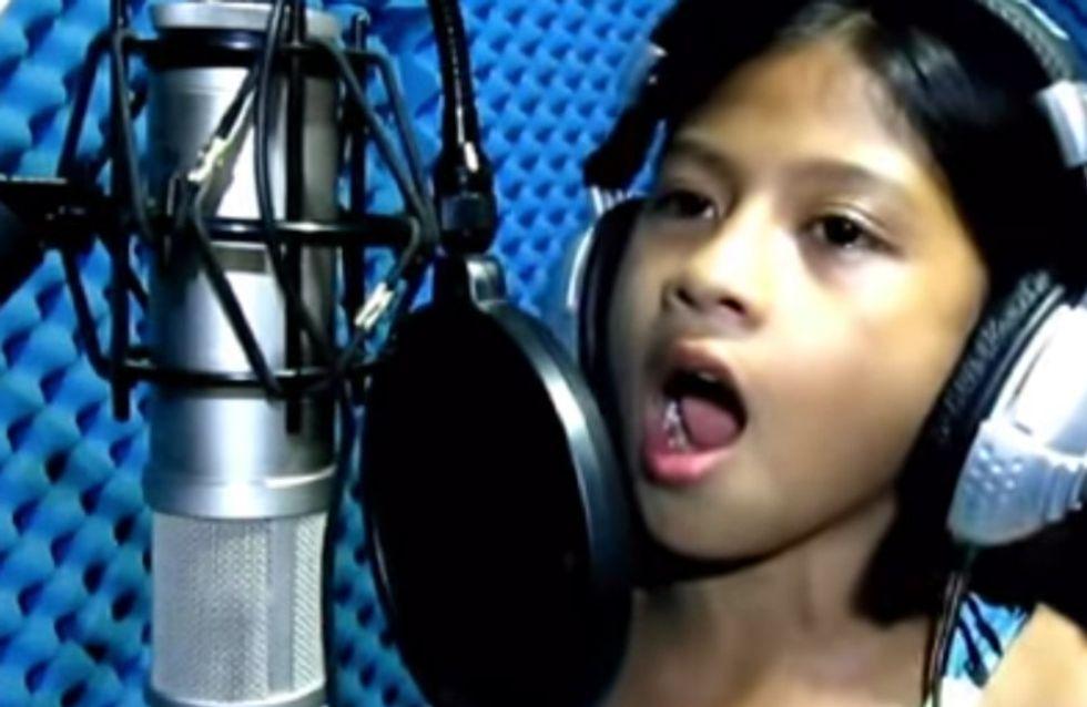 Sie ist erst 10 Jahre alt, singt aber wie eine Diva! Cydel ist die neu Youtube-Sensation
