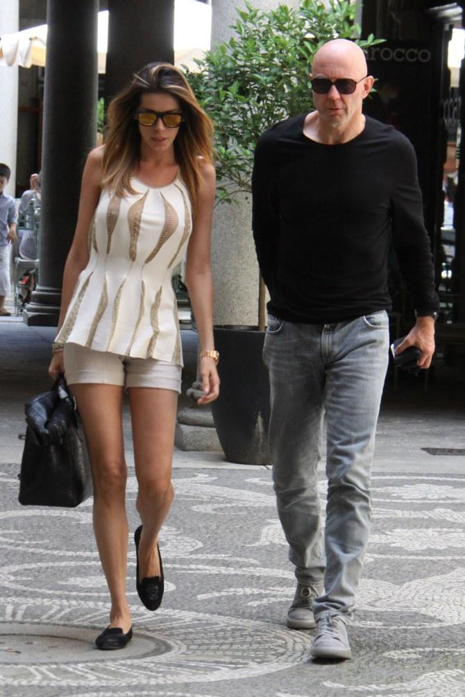 Aida Yespica e il fidanzato