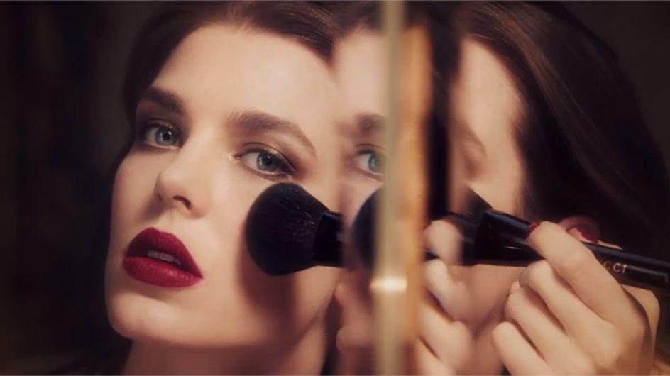 Gucci Cosmetics dévoile son premier spot avec Charlotte Casiraghi (Vidéo)