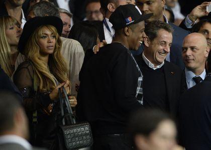 Beyoncé, Jay Z et Nicolas Sarkozy