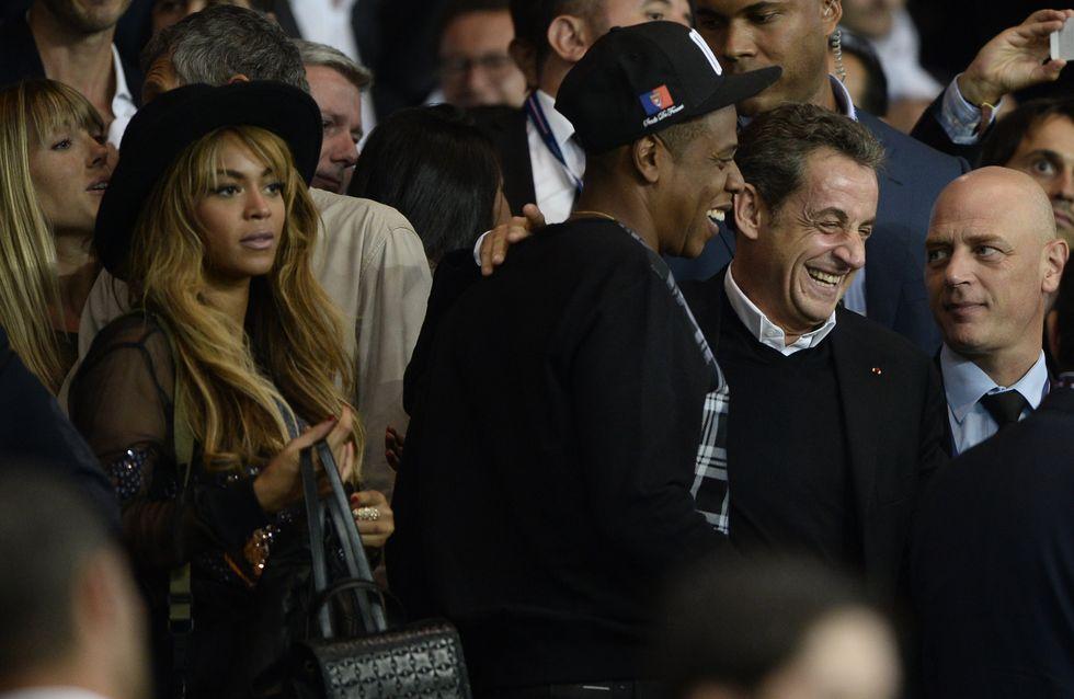 Beyoncé, Beckham, Sarkozy... Tous copains au match PSG-Barça (Photos)