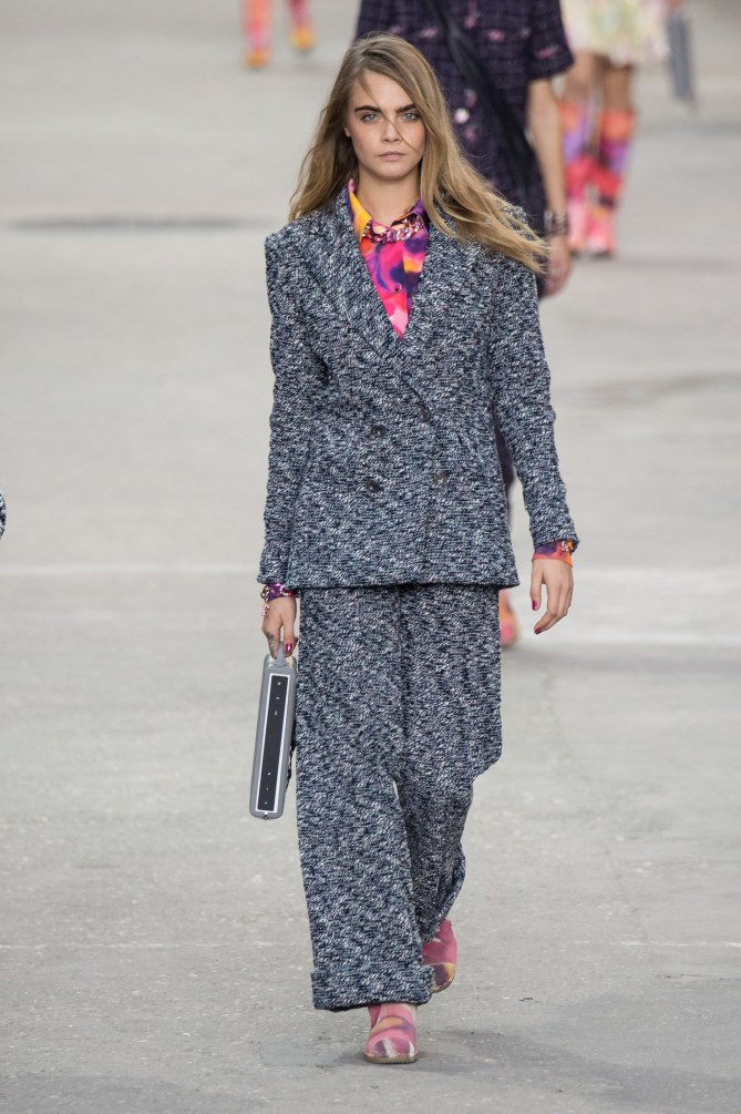 Cara Delevingne pour Chanel