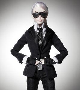 La Barbie® Karl Lagerfeld