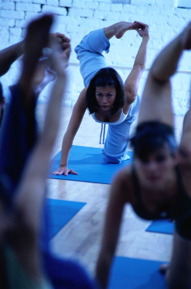 Cours de yoga, pour gagner en souplesse