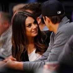 Ashton Kutcher y Mila Kunis ¡ya son papás de una niña!