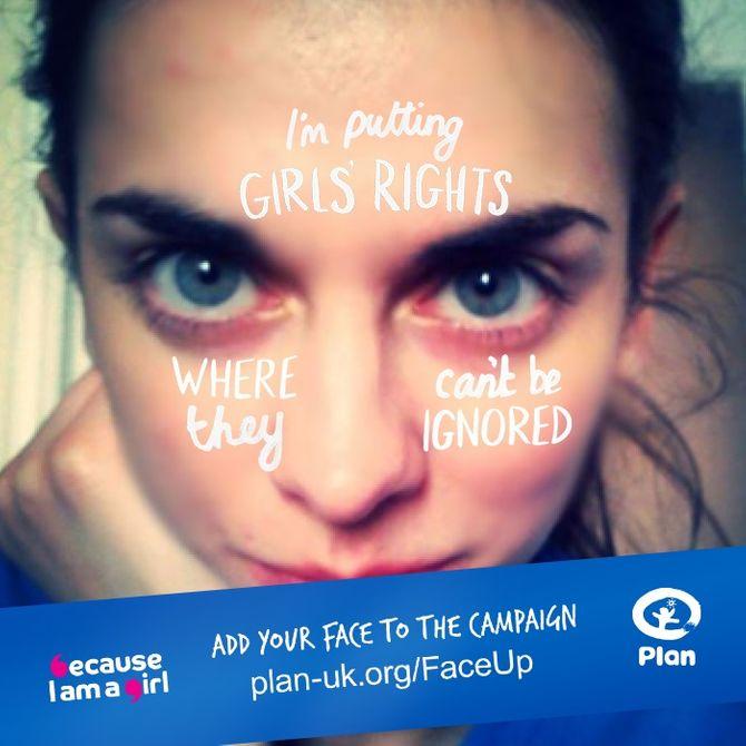 Des centaines d'anonymes se mobilisent pour la campagne de Plan UK