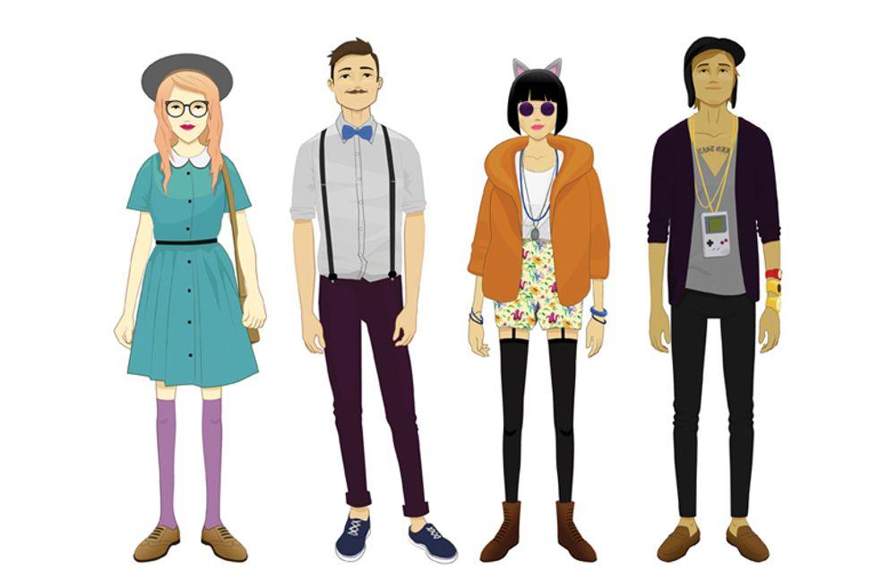 Jeans skinny, camicie a quadri, amore per il vintage: in una parola? Hipster!