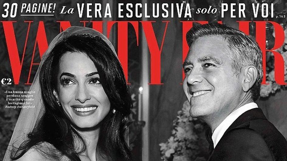 George Clooney et Amal Alamuddin : De nouvelles photos exclusives de leur mariage dévoilées