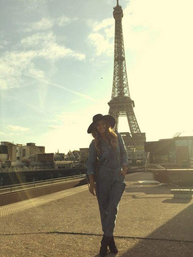Beyoncé à Paris