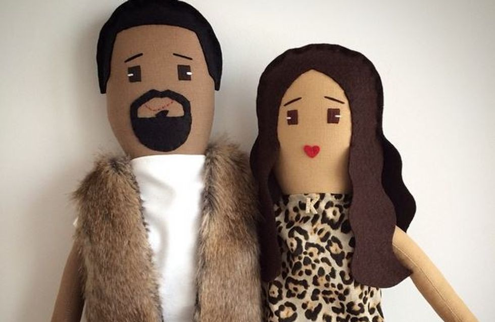 North West s'amuse avec des poupées à l'effigie de... ses parents !