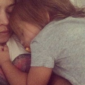 Kourtney Kardashian et sa fille Penelope