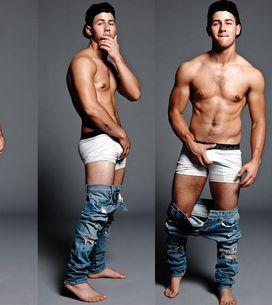 Nick Jonas, ¡sin ropa y más sexy que nunca!