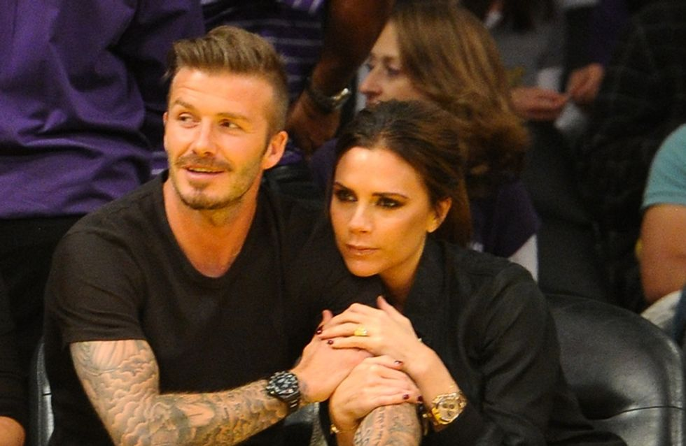 11 Times David Beckham Brought Out Victoria's Soft Side