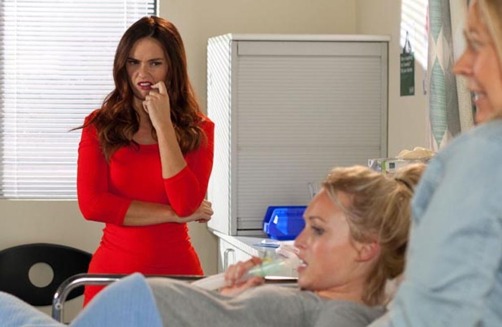 Hollyoaks 15/10 – Theresa goes into labour