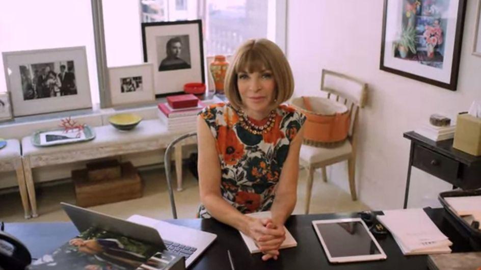 La célèbre Rédactrice en chef de Vogue US Anna Wintour au centre d'une satire