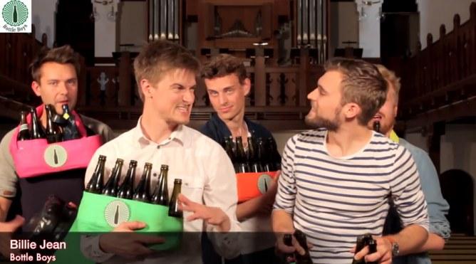 Bottle Boys, la band che suona con le bottiglie