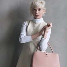Michelle Williams, à nouveau l'égérie de Louis Vuitton