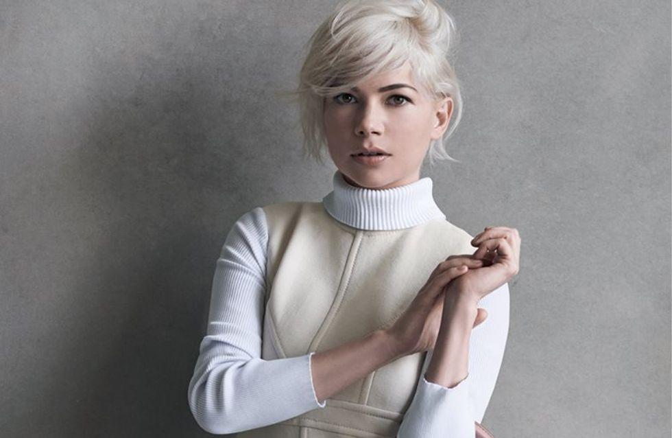 Michelle Williams, à nouveau l'égérie de Louis Vuitton