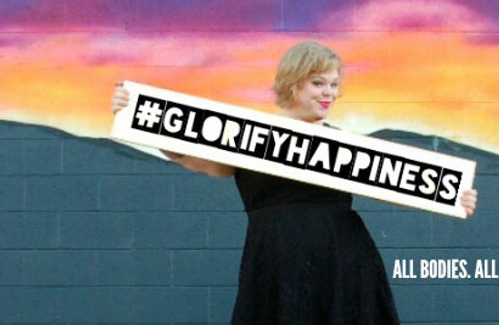 #GlorifyHappiness, le nouveau hashtag des femmes qui se sentent bien dans leur corps