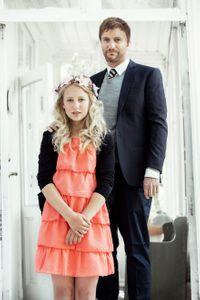 La petite Thea s'apprête à épouser Geir