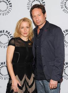 Gillian Anderson y David Duchovni