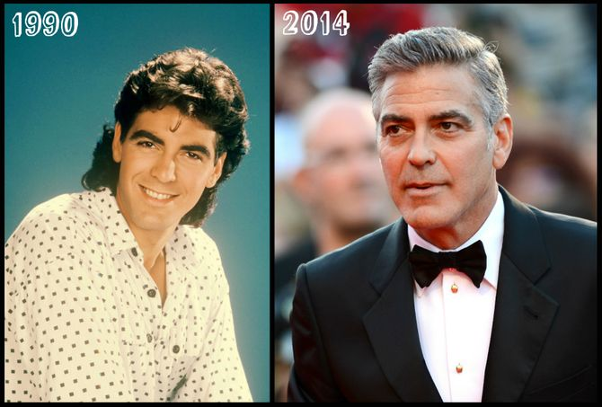 Homens bonitos | George Clooney