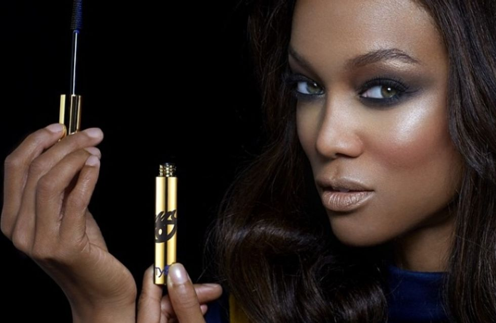 Tyra Banks lance sa marque make-up (Vidéo)