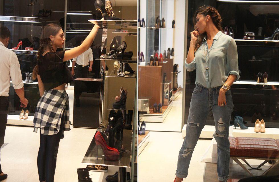 Belén e Cecilia vanno matte per le scarpe! Le foto delle due sorelle alle prese con lo shopping