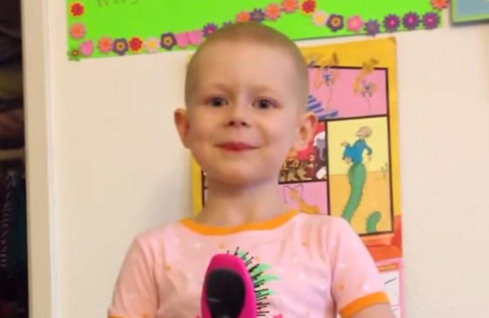 Mit gerade erst 5 Jahren hat sie den Krebs besiegt und zeigt uns allen, wie stark sie ist!