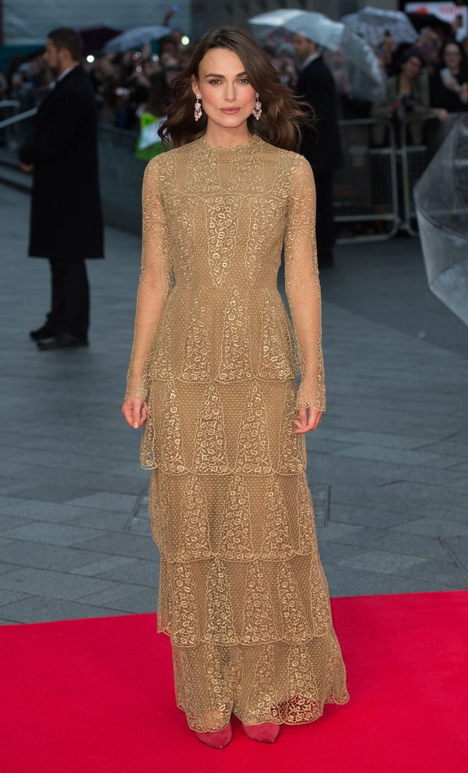 Keira Knightley, le 8 octobre 2014