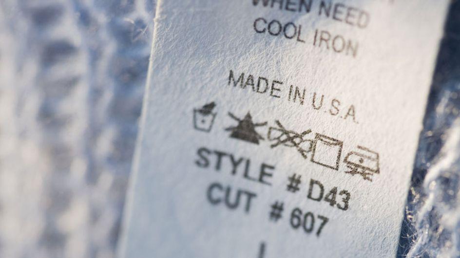 ¡Te enseñamos a leer las etiquetas de la ropa!
