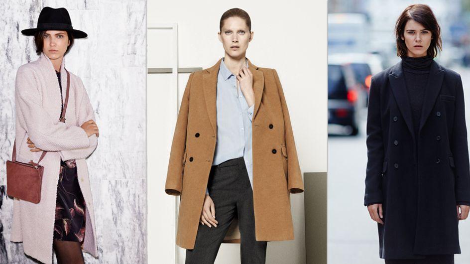 Her mit den warmen Stoffen! Das sind die Mantel-Trends für diesen Winter