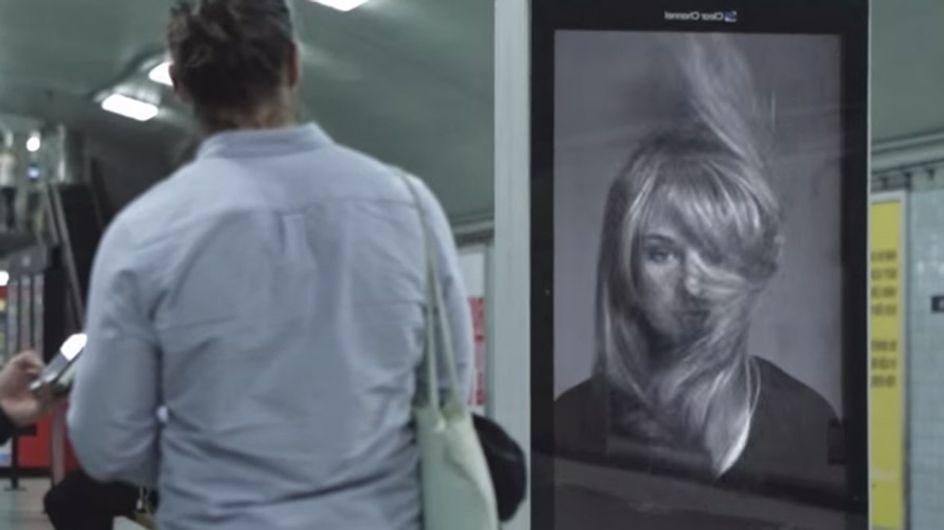 Diese Kampagne fällt auf! Aus einer amüsanten Werbung wird plötzlich bitterer Ernst