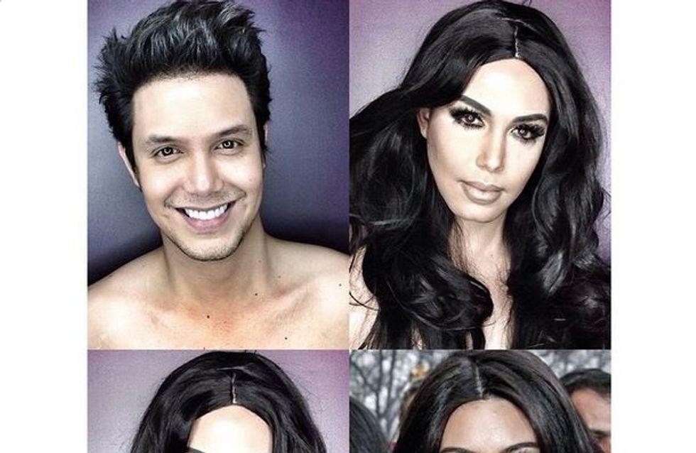 C'est fou ce qu'on peut faire avec du maquillage...
