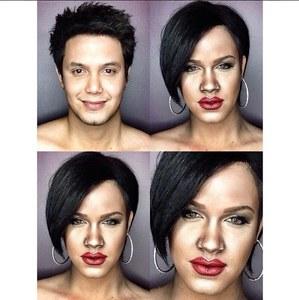 Paolo Ballesteros en Rihanna.