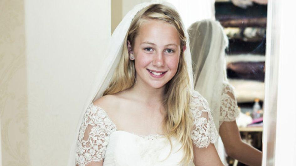Cómo organizar una boda... ¿con 12 años?