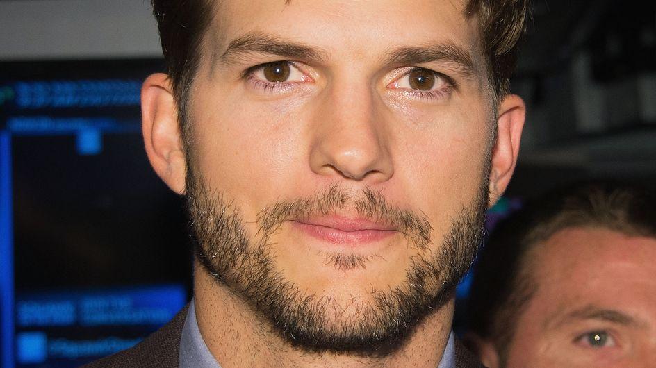 Ashton Kutcher est un vrai papa poule
