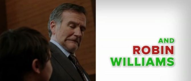 Robin Williams dans A Merry Friggin' Christmas