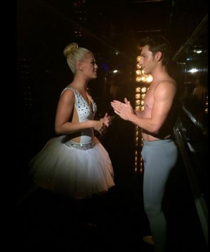 Brian Joubert dans Danse avec les stars