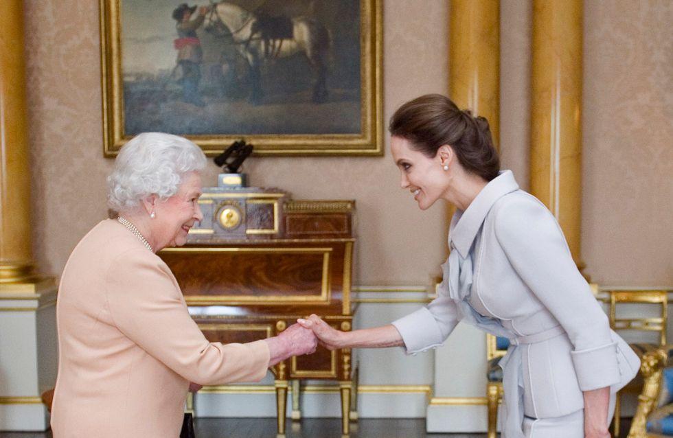 Angelina Jolie décorée par la reine Elizabeth II pour sa lutte contre les violences sexuelles
