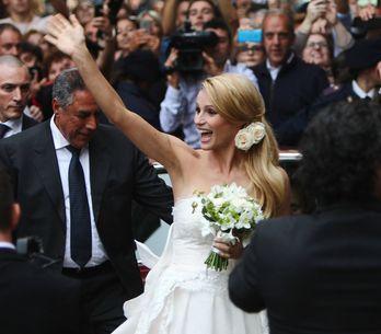 Michelle va all'altare: sfoglia le immagini del matrimonio della Hunziker!