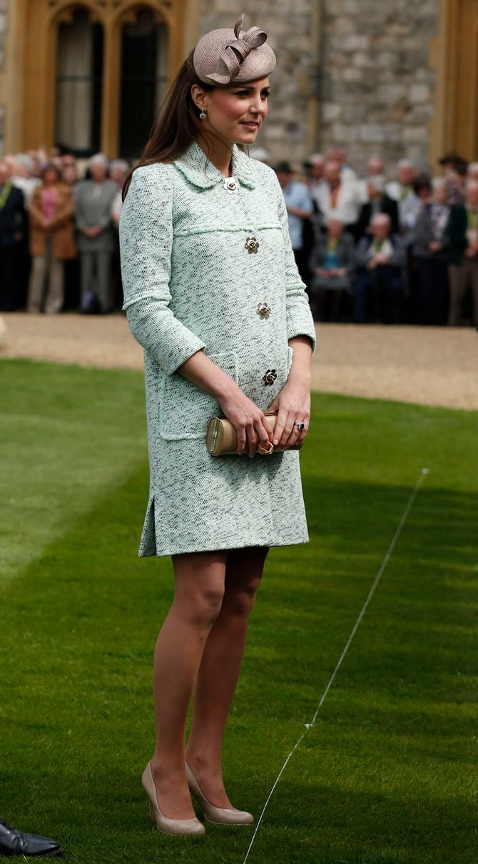 Kate Middleton pendant sa première grossesse