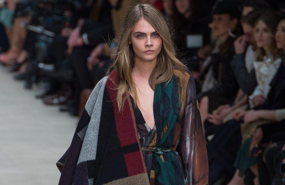 La cape-manteau Burberry, carton mode de la rentrée