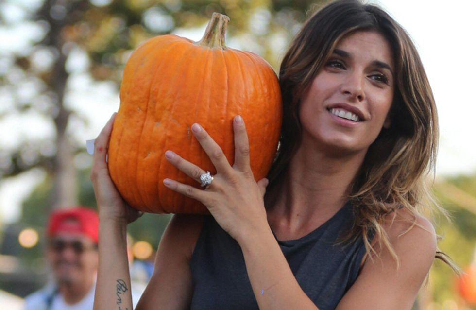 Canalis in versione casual-rock alla ricerca della zucca per Halloween. Tutte le foto!