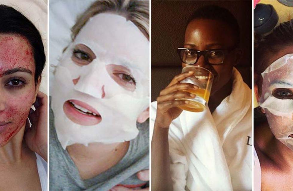 Tutte in maschera: scopri i segreti di bellezza delle star per prendersi cura della pelle del viso!