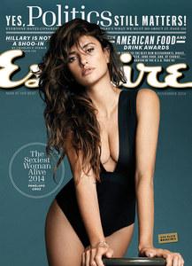 Voici la Une du Esquire de novembre.