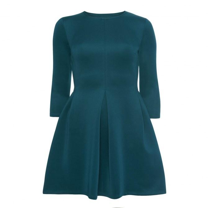 Robe bleu canard Primark, 16 euros