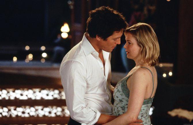 Hugh Grant et Renée Zellweger dans Bridget Jones : L'Age de raison