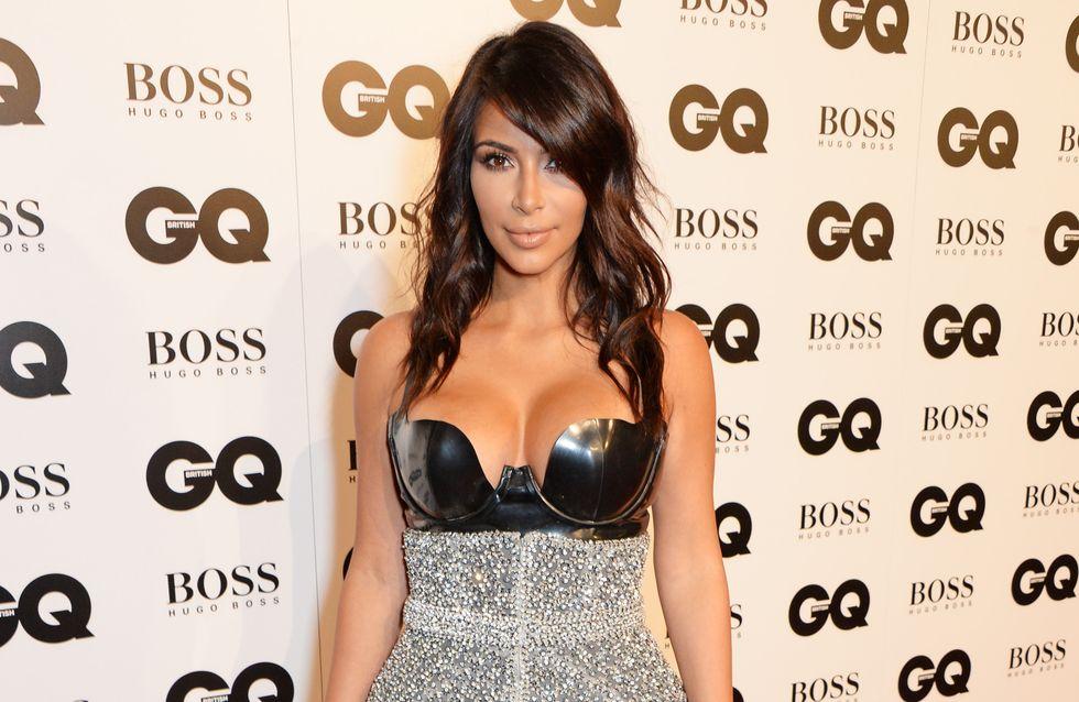 Kim Kardashian passe au carré (Photo)