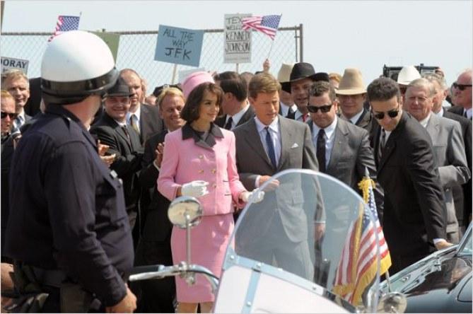 Voici une image de la mini-série Les Kennedy.